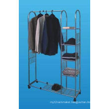 Metal Retail Wire Show Garment/Clothes/Colthing Display Rack (SLL07-002)