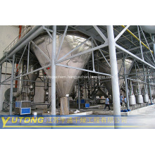 Centrifuge spray dryer of amino acid