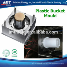 Cubo de la forma del cuadrado del OEM con el cubo plástico del fabricante del molde de la inyección de la cubierta que hace la máquina