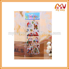 Cheap promotion Christmas stickers,different design of kids sticker printing