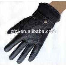 2013 nuevos guantes de cuero de lujo del grado diseñan para requisitos particulares