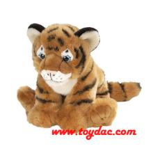 Чучела Диких Мелких Животных Тигр Игрушка