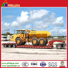 Transport Heavy Machines Modular Trailer Low Loader