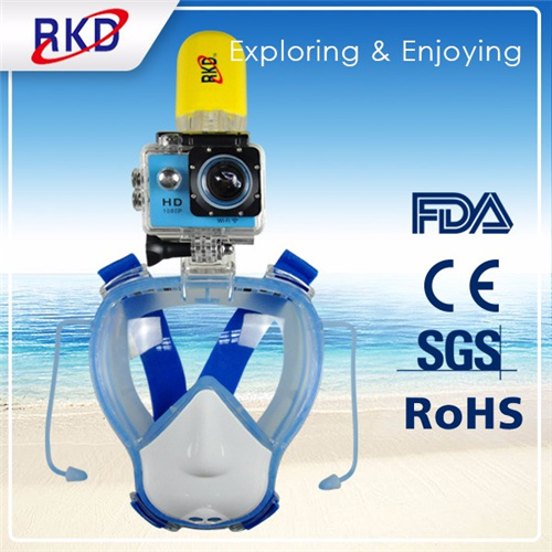 Diving equipment fullface snorkeing mask