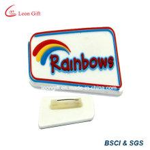 Оптовые лацкан Pin мягкая резиновая ПВХ Badge держатель