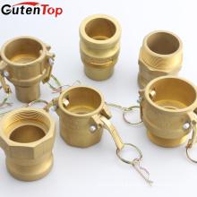 GutenTop Stainless Steel/Aluminium/Brass Camlock Type A B C D E F DC DP