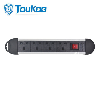 British Power Fused Module 4 Way Power Strip