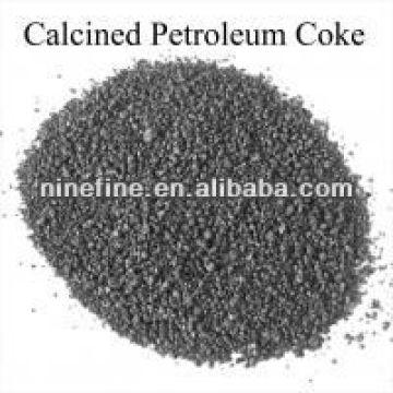 Coque de petróleo calcinado bajo en azufre y alto contenido de carbono