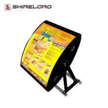 Guangzhou Best Selling 2 / 3 Sides Hanging fast food menu board