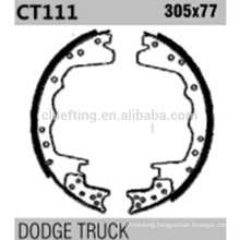 High perfoemance parts K11064 S358-2140T for Dodge brake shoes cost