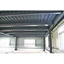 Vorgefertigte Schnellmontage Stahlbau Werk und Lagerbau