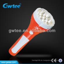 GT-8154 Wiederaufladbare LED Solar-Notfackel Licht