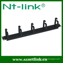 5 pcs metal ring horizontal cable management