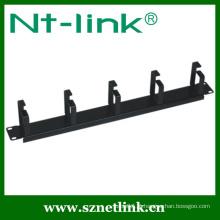5 pcs metal anel horizontal cabo de gestão