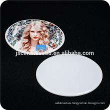 white 75 alumina ceramic plate for photo printing