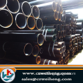 API black Seamless Steel Pipe with plastic