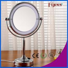 Fyeer de moda 8 polegadas ultra fino LED Maquiagem espelho de mesa