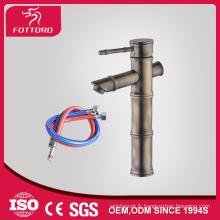 MK26604 SGS Antique bassin robinets laiton artistique de robinets