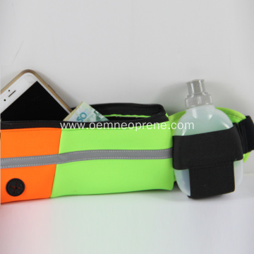 Hot Sale Neoprene Waist Belt With Bottle Holder