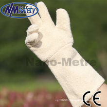 NMSAFETY terry long oven glove