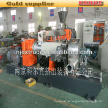 PP / PE mit Abfall-Holz-Granulier-Extrusionsmaschine WPC SHJS 65/150