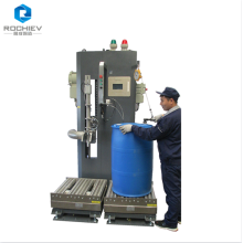 Halbautomatische Abfüllmaschine für Fässer / IBC