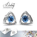 Destino joias cristais de Swarovski brincos de combinação