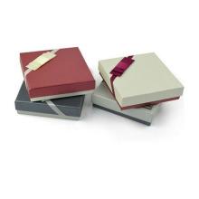 Деликатный квадратный шарф Подарочная коробка Matt Paper