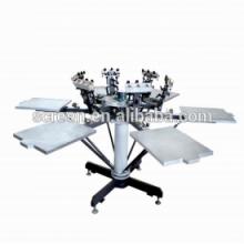 Полуавтоматическая машина для трафаретной печати с планшетом