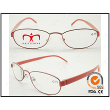 Hot Selling Colorful Tr90 Temples Metal Optical Frames (WRM503021)