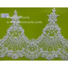 Fabric Ivory Embroidery Lace Knitted Lace Hem Lace CTC364-1B
