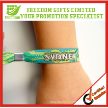Bracelet jetable imprimé le plus populaire de logo