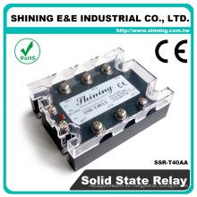 SSR-T40AA De CA a CA De baja potencia Fotek tipo SSR de fase trifásica