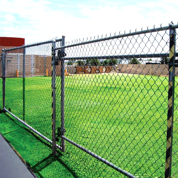 lawn pvc coated wire mesh fence