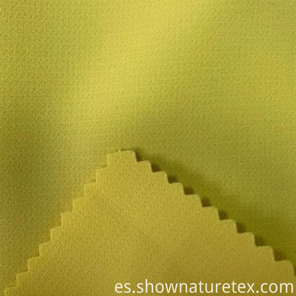 4 Way Spandex Polyester Double Weave