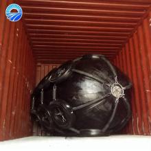 Pára-choque marinho de borracha pneumático com corrente galvanizada e pneu feito em China