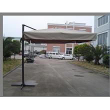 Outdoor Aluminium New Square Pole Hanging Umbrella