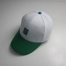 Coton tissé Label Patch Sport Cap
