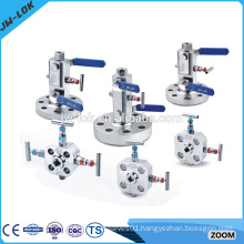 Industrial double block and bleed valve