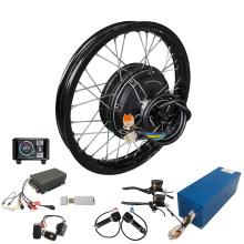 72v 150A Sabvoton sinewave controller 5000W 200mm dropout Hub Motor rear wheel electric bike kit
