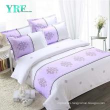 Yrf Customize 100% Cotton Printing Reactive Hotel Bedding