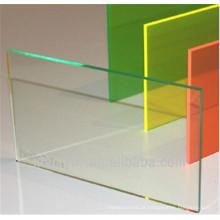 Folha transparente do PVC do PVC óptico para a dobra fria