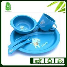 Alta qualidade bambu fibra crianças Dinnerware (BC-BB-SU2003)