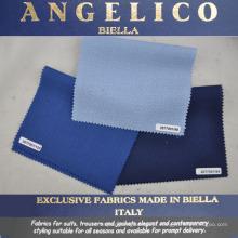 Tecido exclusivo para fatos feito em Biella Itália
