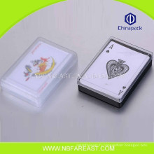 Grand matériel neuf jouant aux cartes de poker bon marché