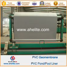 Superfície lisa Cinzento Azul Cor PVC Geomembranes Pond Liners