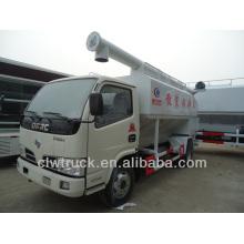 Mini 4x2 Dongfeng granel descarga de camiones de descarga de alimentación en Turquía