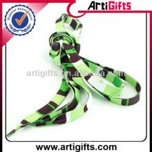 Calzado de cordones de deporte de poliester de impresión de transferencia de calor