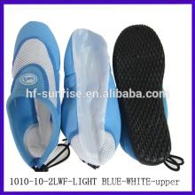 Zapatos antideslizantes del agua zapatos del agua de la aguamarina zapatos superiores superiores separeted superiores de la aguamarina del outsole