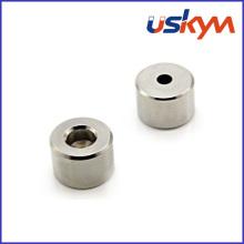 Aimants en néodyme à anneaux enroulés en nickel fabriqués en usine (R-005)